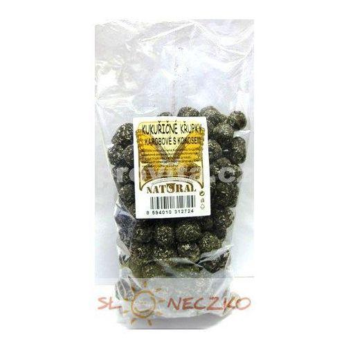 Chrupki kukurydziane w karobie z kokosem 150g NATURAL (8594010318580)