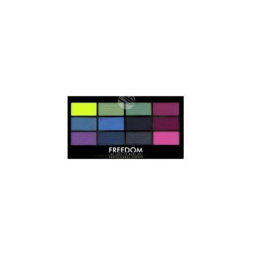 Freedom pro eyeshadow palette (w) paleta 12 cieni do powiek chasing rainbows 12g