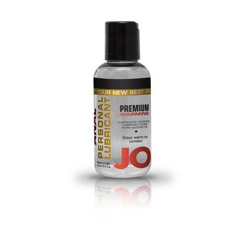System jo Lubrykant analny - anal silicone lubricant warming 75 ml rozgrzewający
