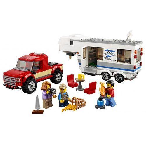 60182 PICKUP Z PRZYCZEPĄ (Pickup & Caravan) KLOCKI LEGO CITY