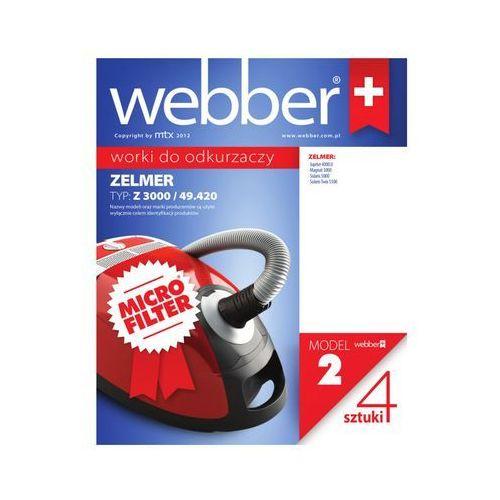 Webber Worek do odkurzacza 2 (4 sztuki) (5907265008824)