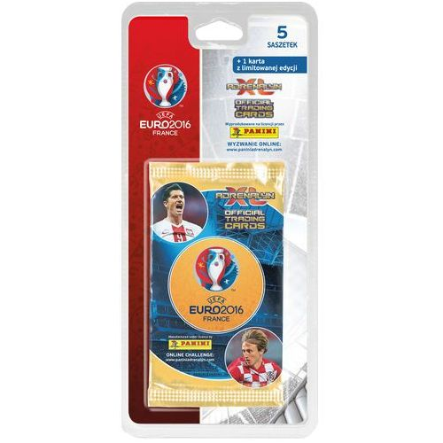 UEFA EURO 2016 Adrenalyn XL. Blister z kartami