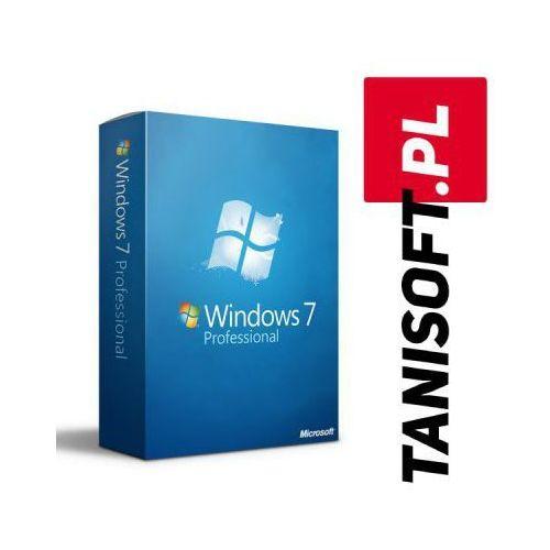 Windows 7 Professional Polska wersja językowa! / szybka wysyłka na e-mail / Faktura VAT / 32-64BIT / WYPRZEDAŻ