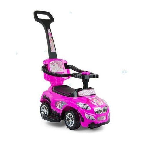 Jeździk pojazd happy 3 w 1 różowy marki Milly-mally