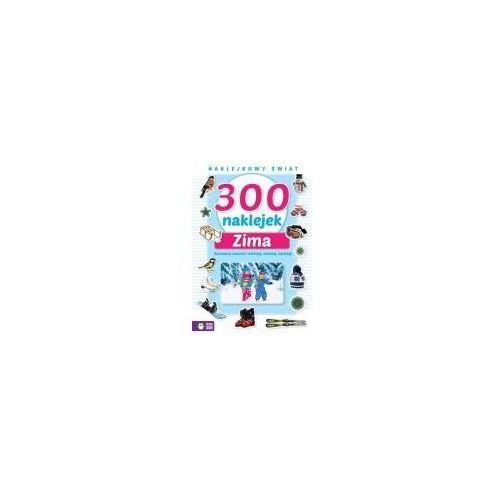 Naklejkowy świat. 300 naklejek zima marki Zielona sowa