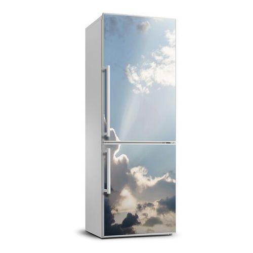 Naklejka Tapeta na lodówkę Chmury na niebie
