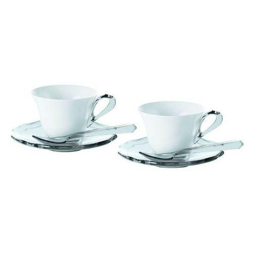 Guzzini Filiżanki do espresso belle epoque 2 szt. transparentne (8008392240617)