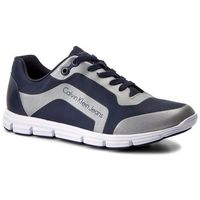 Calvin klein Sneakersy jeans - morris s0502 indigo/silver