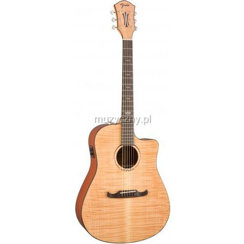 Fender T-Bucket 400-CE Flame Maple Natural gitara elektroakustyczna