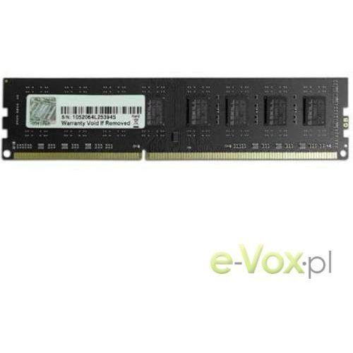 Pamięć G.Skill DDR3 8GB 1333MHz CL9 (F3-10600CL9S-8GBNT) Darmowy odbiór w 21 miastach! (4711148598316)