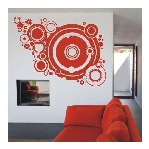 Wally - piękno dekoracji Szablon malarski abstrakcja 1071
