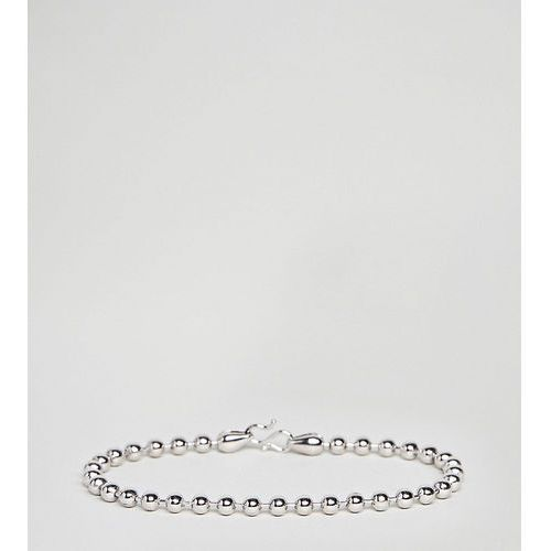 DesignB Silver Chain Bracelet In Sterling Silver Exclusive To ASOS - Silver, kolor szary