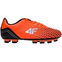 Buty piłkarskie dla dużych chłopców JOBMP403 - POMARAŃCZ