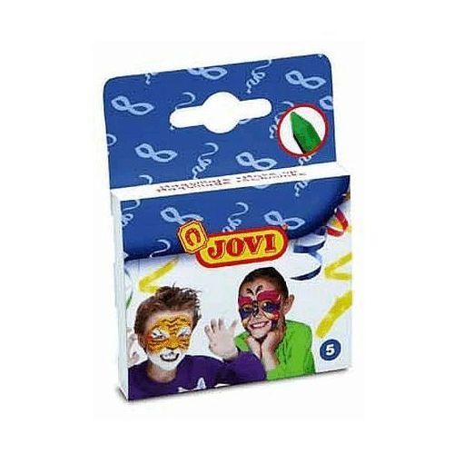 Kredki 5 kolorów do malowania twarzy marki Jovi