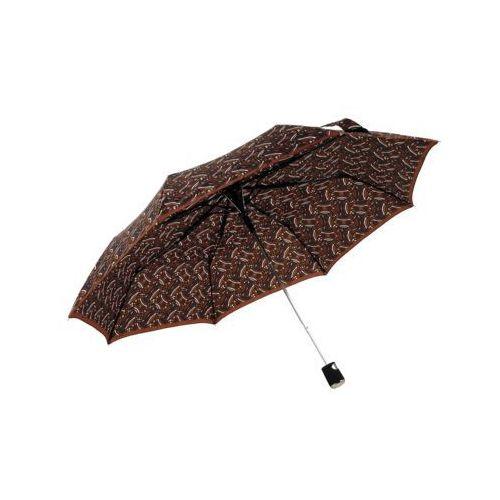 Doppler Fiber ac graphics parasol brązowy