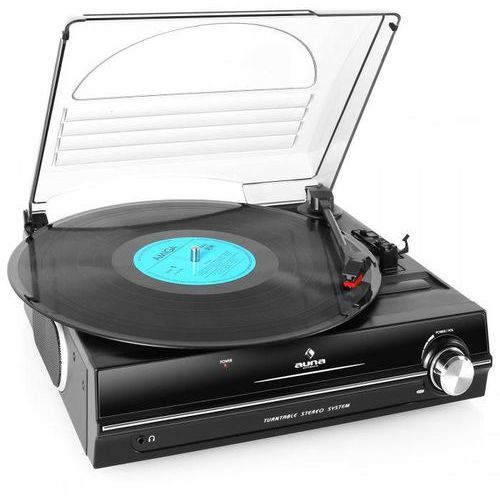 928 gramofon wbudowane głośniki 33 45 rpm marki Auna