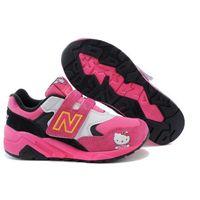 Buty dziecięce New Balance MRT580SA Różowe/czarne/białe (z motywem bajkowym), 13583