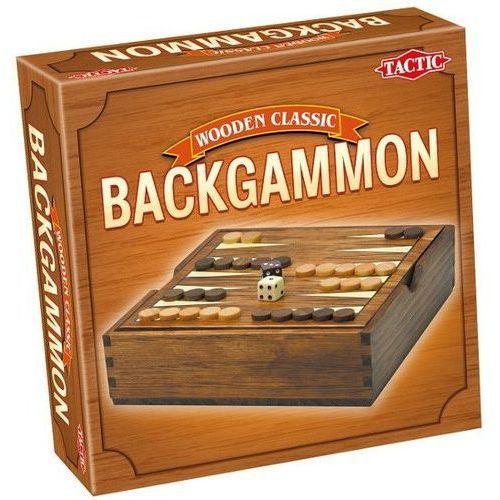 Tactic gra wooden classic - backgammon (6416739140261)
