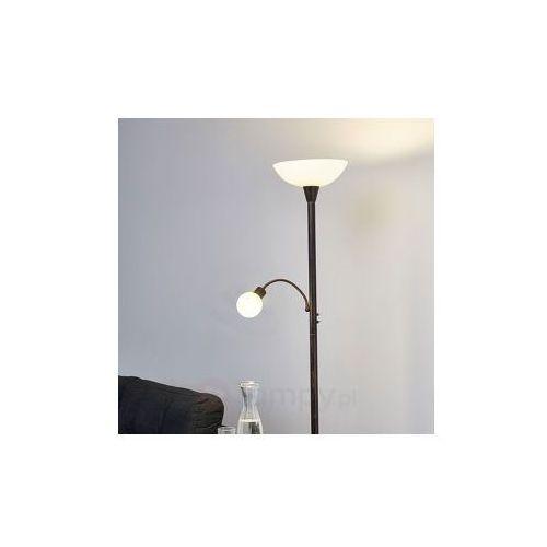 Lampenwelt Lampa oświetlająca sufit led elaina w kolorze rdzy (6291106552546)