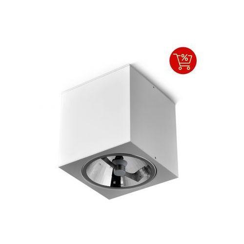 Aqform Big cube 111 natynkowy biały 42211-0000-t8-ph-03