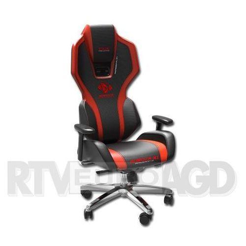 Fotel auroza czarno-czerwony (eec301reaa-ea) darmowy odbiór w 21 miastach! marki E-blue