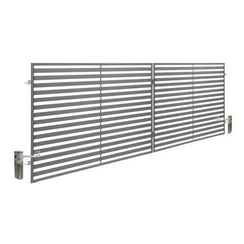 Brama dwuskrzydłowa z automatem brava 350 x 150 cm marki Polbram steel group