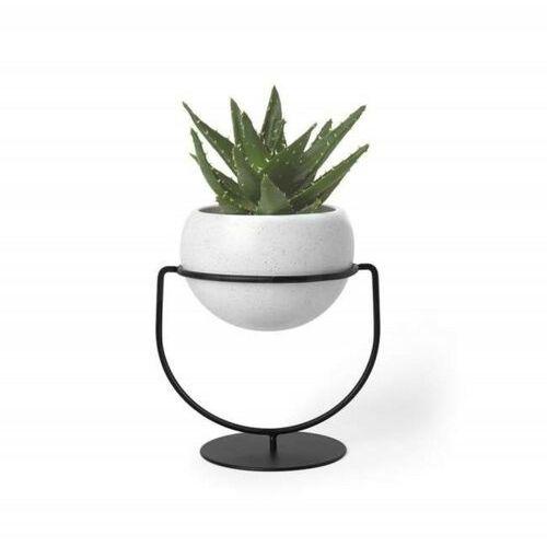 Umbra doniczka nesta biała - metal, ceramika marki Sofa.pl