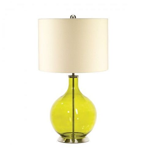 Elstead Orb lime nocna orb/tl lime 67cm szkło-żółty-kremowy