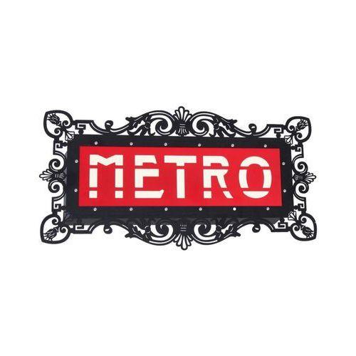 Kinkiet lampa ścienna Aldex Arlet Metro 2x25W E14 biały / czarny / czerwony 821S5, 821S5