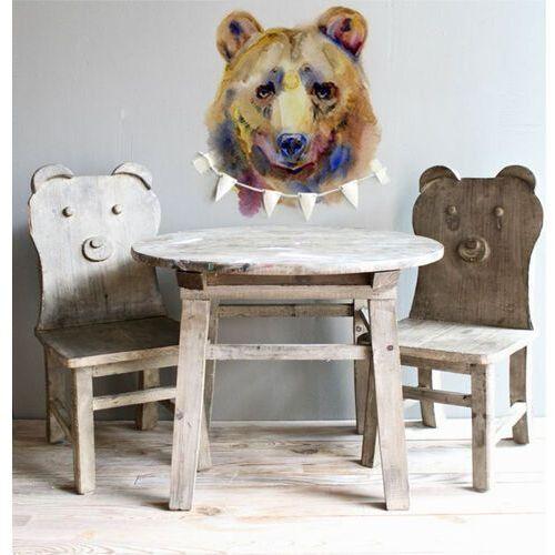 Naklejki na ścianę portret niedźwiedzia marki Coloray.pl