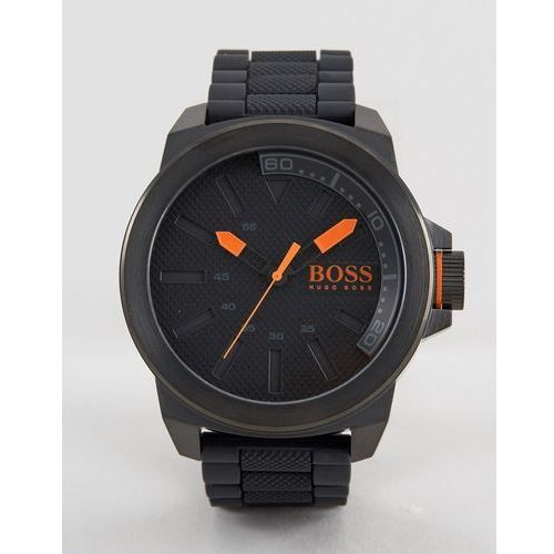 BOSS Orange New York Bracelet Watch In Black - Black