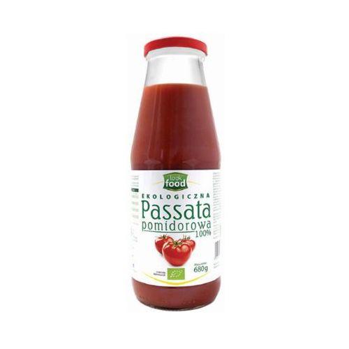 680g ekologiczna passata pomidorowa bio marki Look food