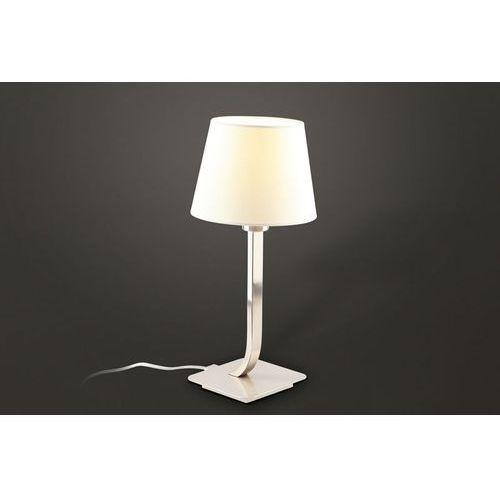 Lampa stołowa denver biała, t0026 marki Maxlight