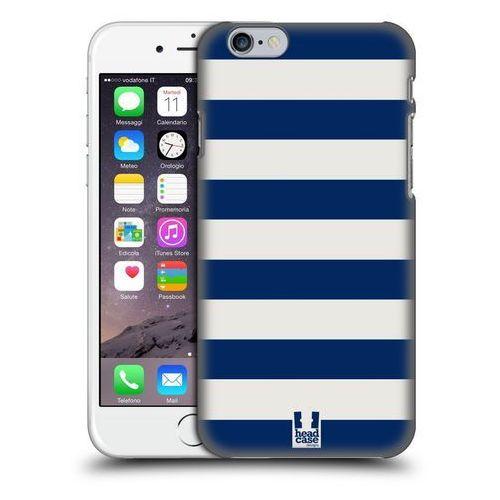 Etui plastikowe na telefon - Stripes BLUE AND WHITE z kategorii Futerały i pokrowce do telefonów