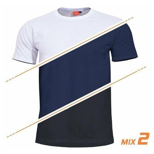 Koszulki t-shirts orpheus black white midnight blue 3szt (k09027-62) - white / navy blue / black marki Pentagon