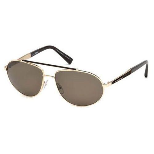 Okulary słoneczne ez0037 polarized 28m marki Ermenegildo zegna