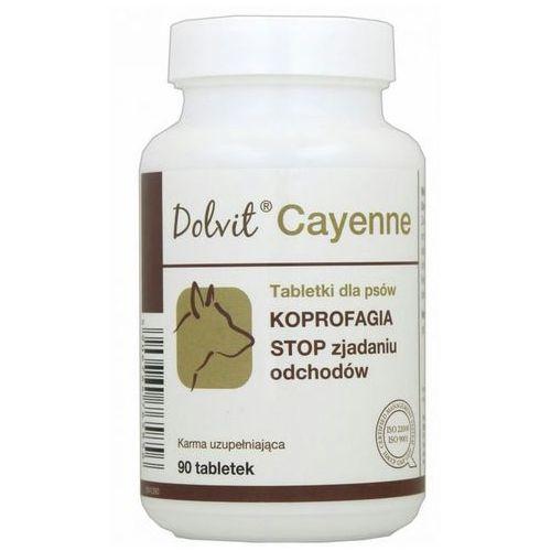 Dolfos  dolvit cayenne preparat dla psów - koprofagia, 90tabl., kategoria: witaminy dla psów