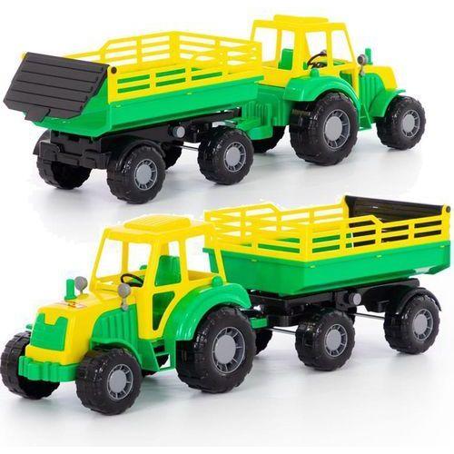 Altaj traktor z przyczepą w siatce marki Polesie