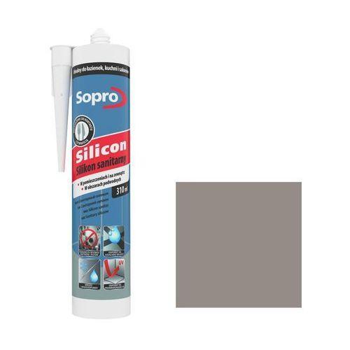 Silikon sanitarny Sopro 310 ml piasek szary 18, 034/310ML