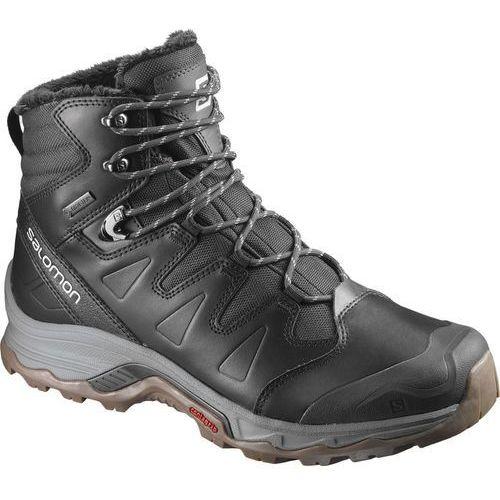 quest gtx buty mężczyźni szary/czarny 44 2018 kozaki sportowe marki Salomon