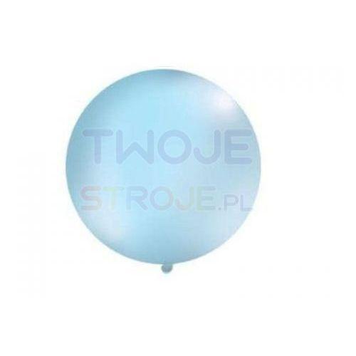 Twojestroje.pl Balon gigant błękitny 100cm 1 szt. (5902230746916)
