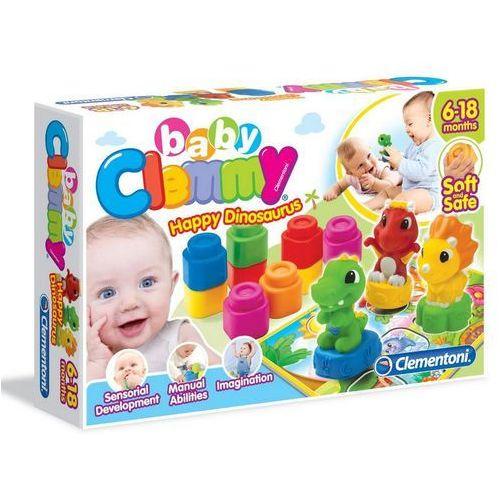 Zabawka CLEMENTONI Clemmy Dino kształty i kolory (8005125170661)