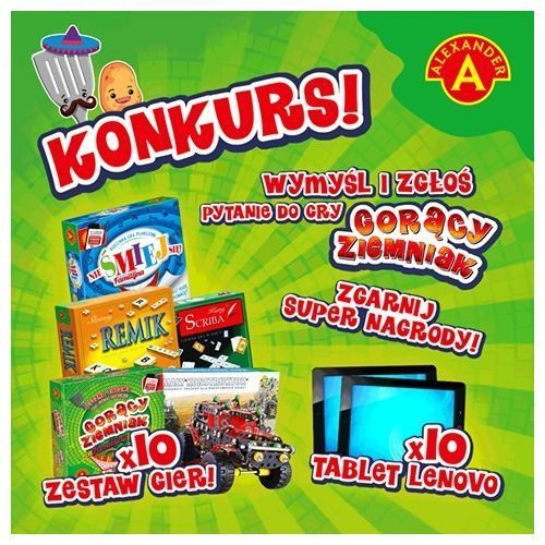 Alexander Gorący ziemniak junior produkt polski reklama tv (5906018014136)