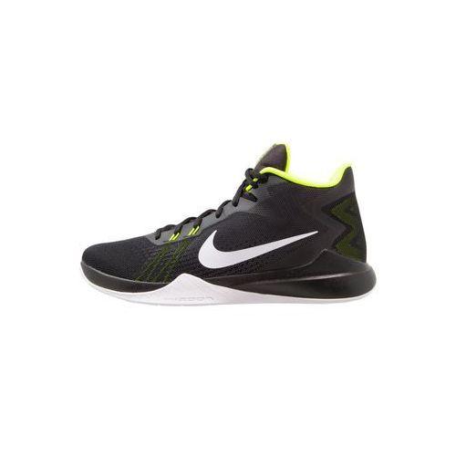 Nike Performance ZOOM EVIDENCE Obuwie do koszykówki black/white/volt (0886548252251)