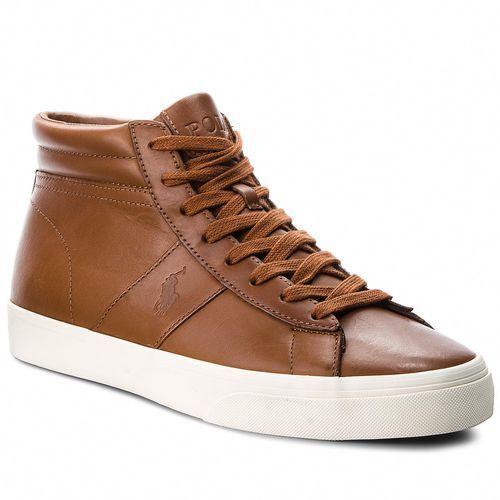 Sneakersy POLO RALPH LAUREN - Shaw 816710022002 Polo Tan, kolor brązowy