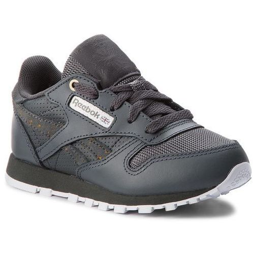 Buty Reebok - Classic Leather CN5161 Marble/Stealth/White, kolor szary