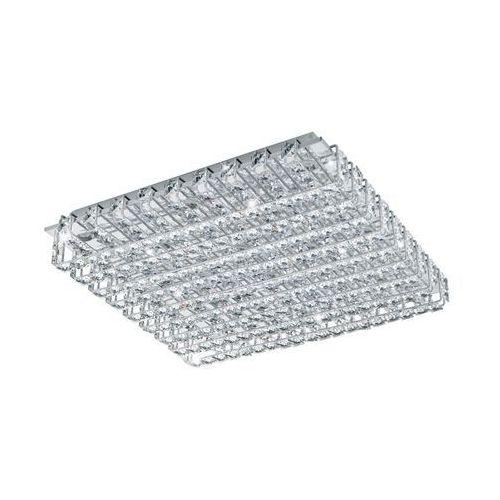 Eglo 94315 - LED Kryształowa lampa sufitowa LONZASO 16xLED/3,3W/230V, kolor chrom