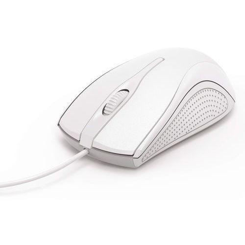 Hama Mysz optyczna mc-200, biała