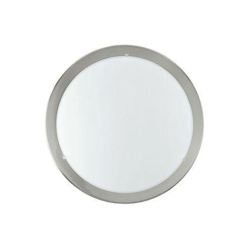 Eglo Plafon planet 31254 lampa sufitowa 1x11w led nikiel mat / biały (9002759312541)
