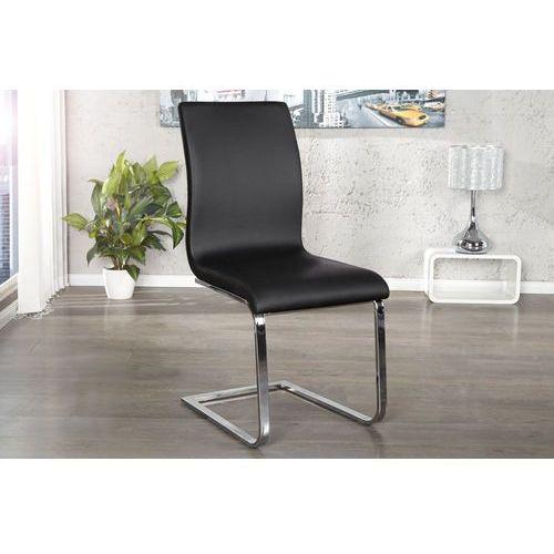 Interior Krzesło hamilton czarne - czarny, srebrny